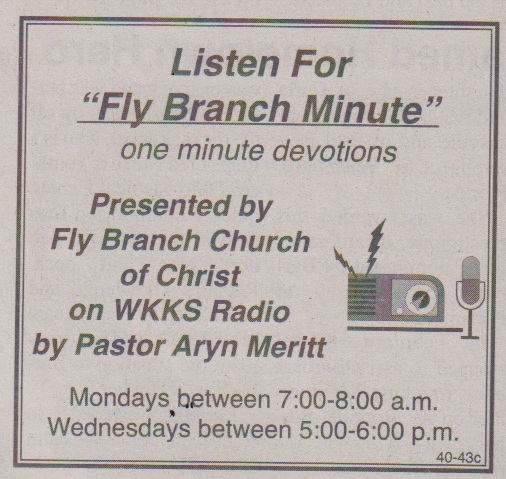 Fly Branch Minute